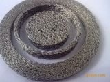 Maglia lavorata a maglia appiattita per l'elemento filtrante