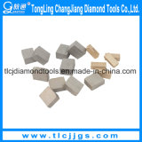T de Segmenten van de Diamant van het Type voor het Harde Graniet van het Knipsel