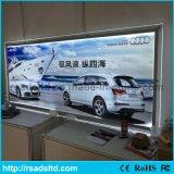 Signage en cristal mince de cadre léger de la qualité DEL de la CE