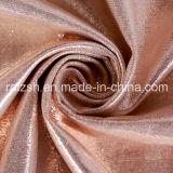 Polyester le bronzage en daim Sacs Chaussures haut de gamme de tissus mode Textile Fleuret