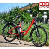 Stadt-elektrisches Fahrrad mit Lithium-Batterie