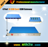 4-8-16-32 passerelle GSM de port (ETH-416/832/1664/3232)