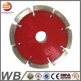 Лезвие алмазной пилы електричюеских инструментов сваренное лазером круговое для гранита вырезывания