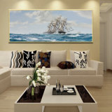 卸し売り高品質の装飾の油絵、ホーム装飾の絵画、芸術の絵画帆ボートの油絵)
