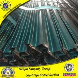 Tubo especial en frío del acero de la sección de la depresión de la dimensión de una variable del perfil de la ventana