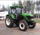 4WD 100HP 트랙터 농장 트랙터 로더 굴착기