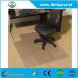 Transparente Belüftung-Stuhl-Matte mit der Lippe für harte Fußböden