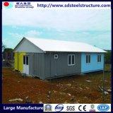 Costruzioni della costruzione prefabbricata del pannello a sandwich della casa del blocco per grafici d'acciaio