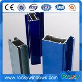Profil en aluminium coloré d'extrusion dans le traitement extérieur de différence