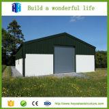 Здание мастерской пакгауза структуры металла стальное передвижное для сбывания