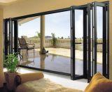 Rupture thermique porte patio en aluminium (AL03)