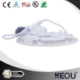 6W 12W 18W Round LED Panel Light