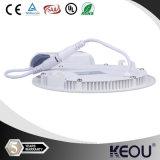 6W 12W 18W rond LED panneau de lumière