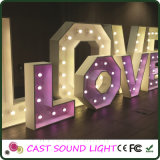 LED Lettre Sign Wedding Decoration Lights