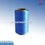 fibra di 400d UHMWPE per la fibra Tagliare-Resistente di Glove/PE/fibra di Hppe/fibra del polietilene (fibra colorata) (azzurro di TYZ-TM30-400D-Dark)