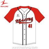 Do desgaste quente dos esportes da venda de Healong basebol feito sob encomenda Jersey do Sublimation