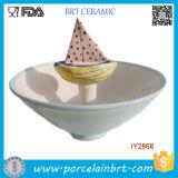 De in het groot Kom van de Boot van het Suikergoed van de Snack van Kinderen Ceramische