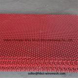 Красная высокая растяжимая сетка экрана минирование для карьера минирование песка
