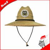 Chapéu de palha natural da cavidade do chapéu de palha