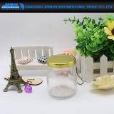 De Fles van het Glas van de Mond van de schroef voor Pudding en Suikergoed