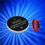 Batería de la célula del botón del litio para el reloj de Bluetooth de la aptitud