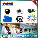 衣類管理のための編まれた高周波受動態RFIDの札