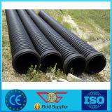 滴りのPEのプラスチック黒い潅漑のDraingeの管