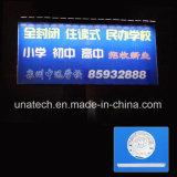 Sonnenkollektor-im Freienmedia-Anzeigen-AnschlagtafelSignage lineare LED Licht bekanntmachend
