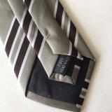 100% poliéster Tie Logotipo de la corbata de microfibra (L081)