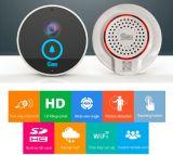 Smart Door Bell Camera Wi-Fi Interphone vidéo Two Way by iPhone Téléphone Android ISO en nuit Verison et imperméable à l'eau