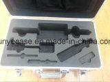 Caso de aluminio para herramientas de empaquetado con espuma del recorte y la bolsa