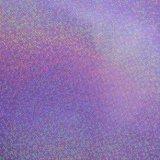 Couro do saco do plutônio de feltro do Glitter, couro decorativo do falso metálico