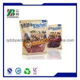 Sacchetto su ordinazione dell'imballaggio dell'alimento per animali domestici di stampa