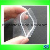 PE Materiële Transparante Reclosable Zakken met Gat op Bovenkant