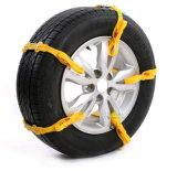Correntes de pneus de neve Anti-Skid de carro Corrente de carro de borracha
