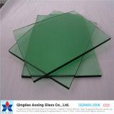 El claro estupendo, bronce, gris, azul, pone verde el vidrio de flotador teñido