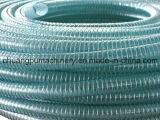 Souples renforcés de l'eau transparente en PVC flexible d'aspiration