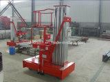 Elevatore aereo di alluminio del lavoro della piattaforma con il certificato del CE