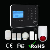 Sistema de alarme duplo sem fio da rede com a sirene sem fio do estroboscópio