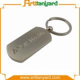 Metal de encargo Keychain de la promoción con el regalo