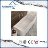 목욕탕 정연한 단단한 지상 독립 구조로 서있는 욕조 (AB6514)