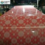De kleur Met een laag bedekt Rollen & Patroon PPGI van het Staal voor Decoratie