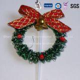 Mini-Coroa para decoração de bolo de Natal