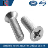 Aço inoxidável DIN965 Cross Recessed Countersunk Head Machine Screw