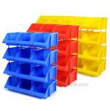 Scomparto accatastabile di plastica del lavoro di memoria del magazzino dell'HDPE
