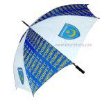 Рекламирующ зонтик гольфа с нестандартной конструкцией (OCT-G5AD)