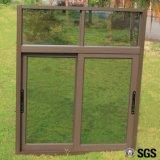 Puder-überzogenes schiebendes Aluminiumfenster mit Verlegenheit, Verriegelungs-Verschluss, schiebendes Aluminiumfenster K01009