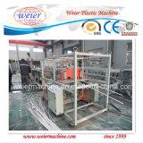 플라스틱 PVC 이중관 밀어남 기계