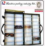 Caso del basamento della cremagliera della mensola della scatola di presentazione di vetro di Eyewear Sun (X029)
