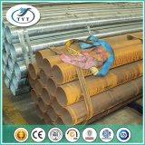 Tubo de acero de la sección de la depresión del hierro del soldado enrollado en el ejército de Q235B